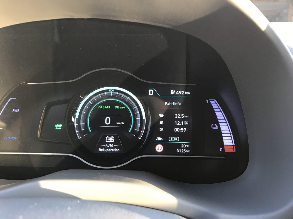 Cockpit Hyundai Kona